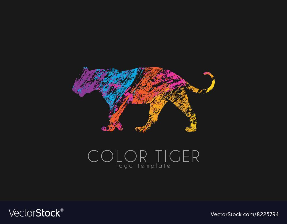 Tiger logo Color tiger design Creative logo