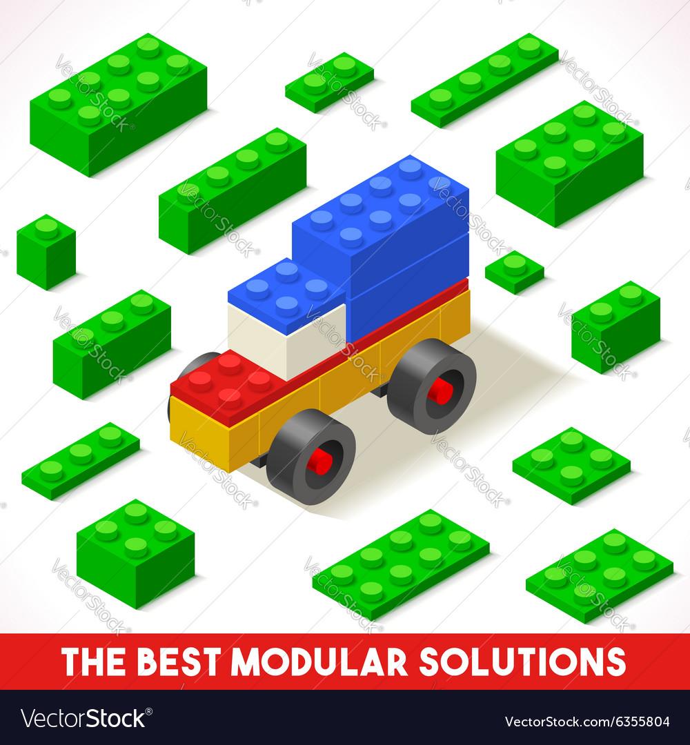 Toy Block Car Games Isometric