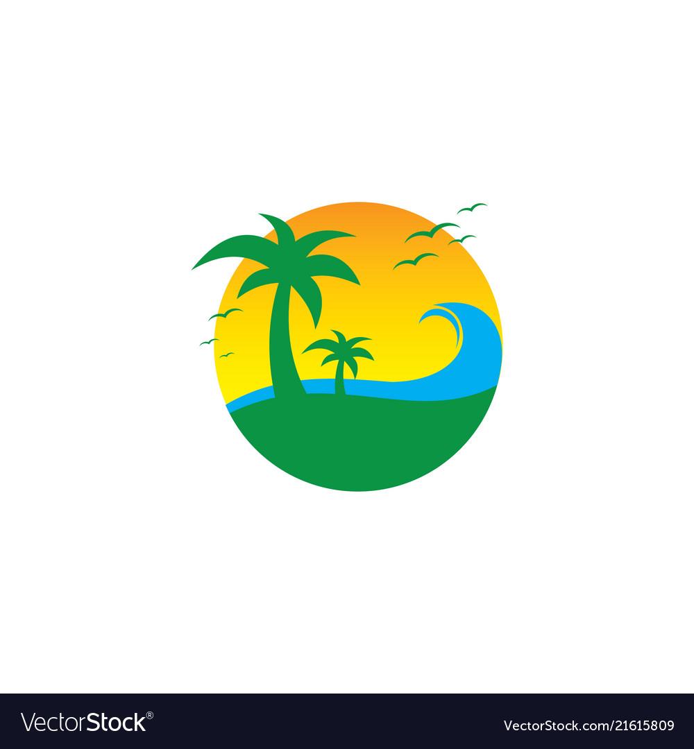 Travel sea holiday island