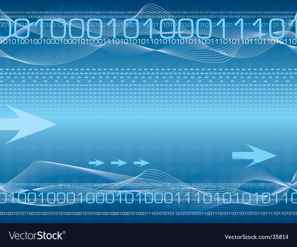 Digital destiny b vector image