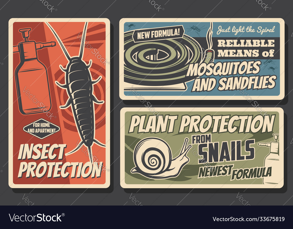Insect and plant protection pest control service