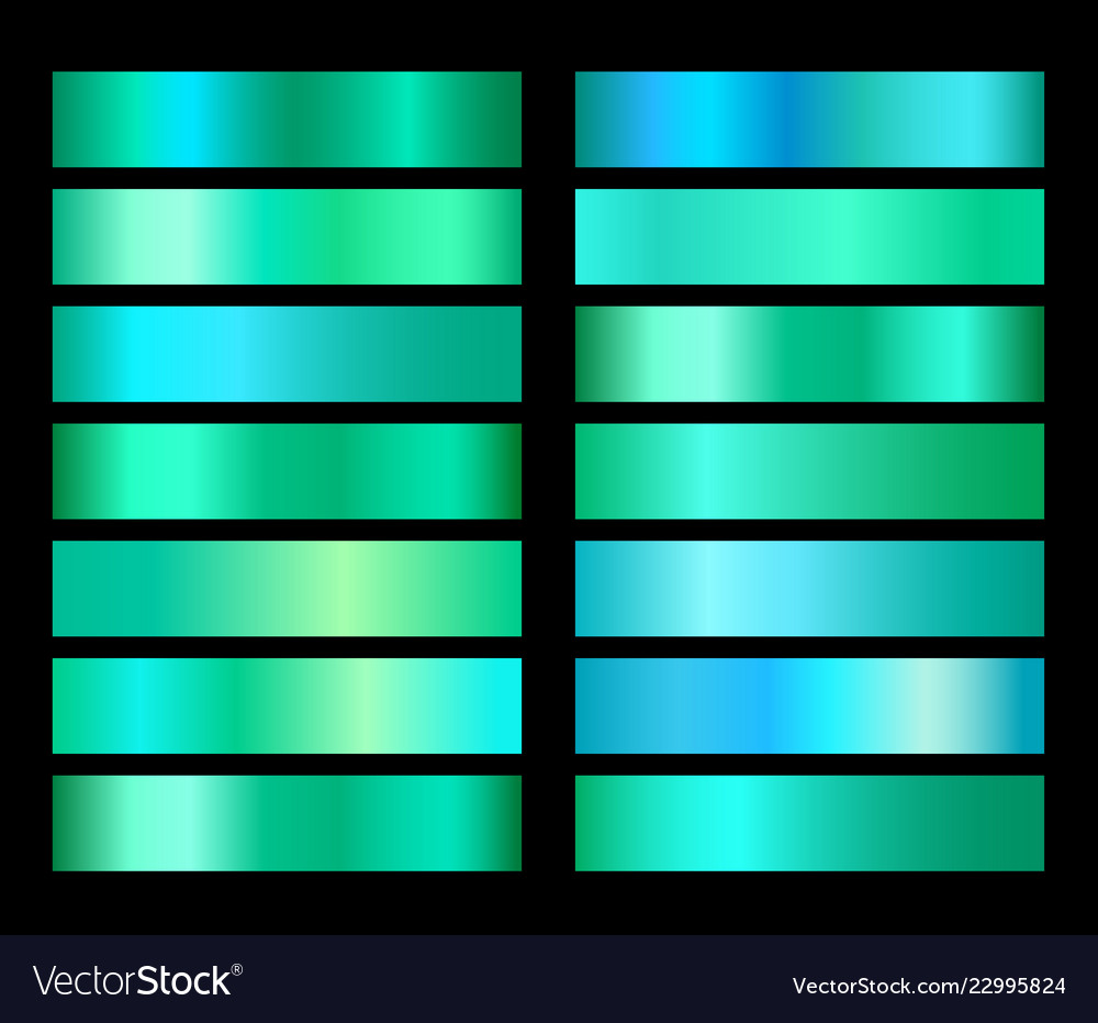 Emerald green gradient foil texture