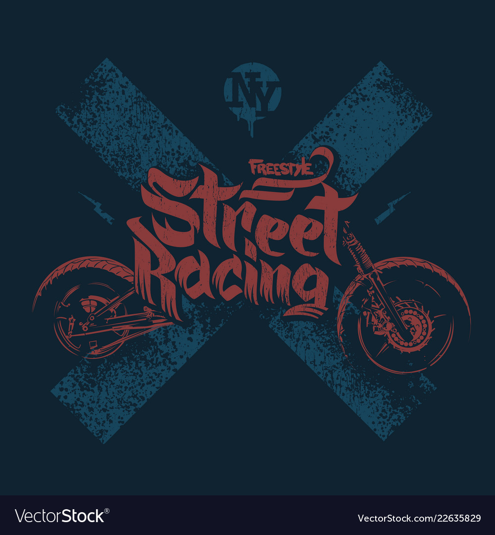 Motorcycle t shirt prints