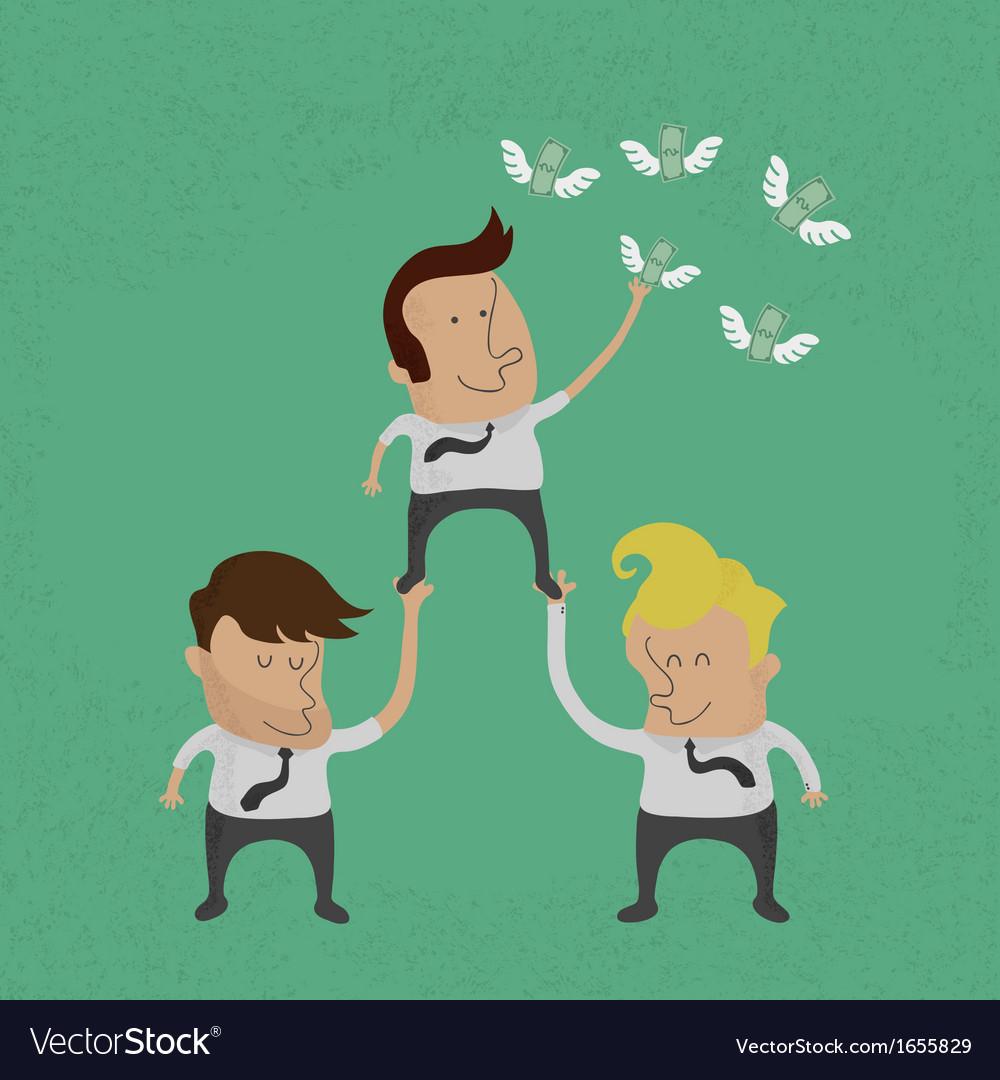 Teamwork1 vector image