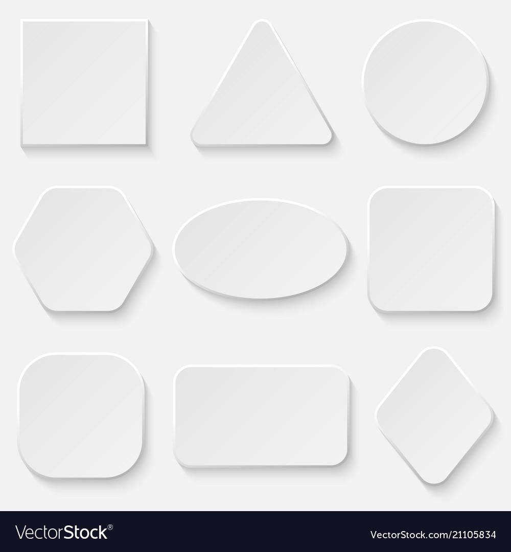 Button bannerr set