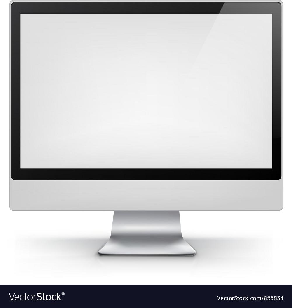 Computer EPS 10 vector image