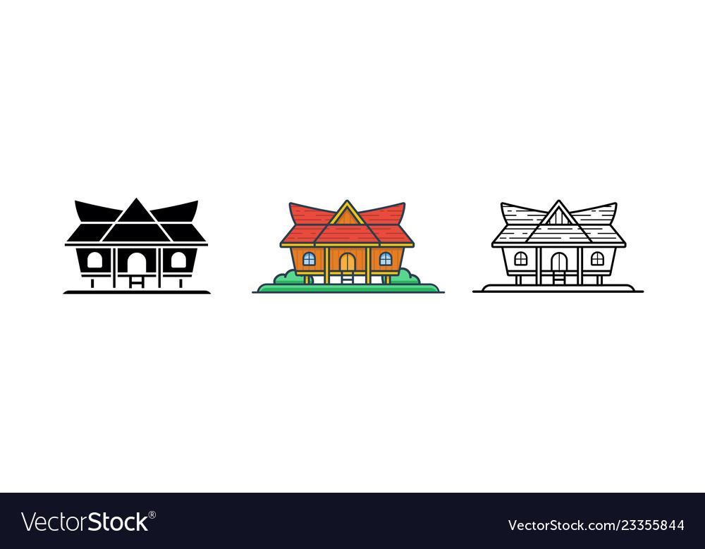 logo rumah joglo vector rumah joglo limasan work rumah joglo limasan