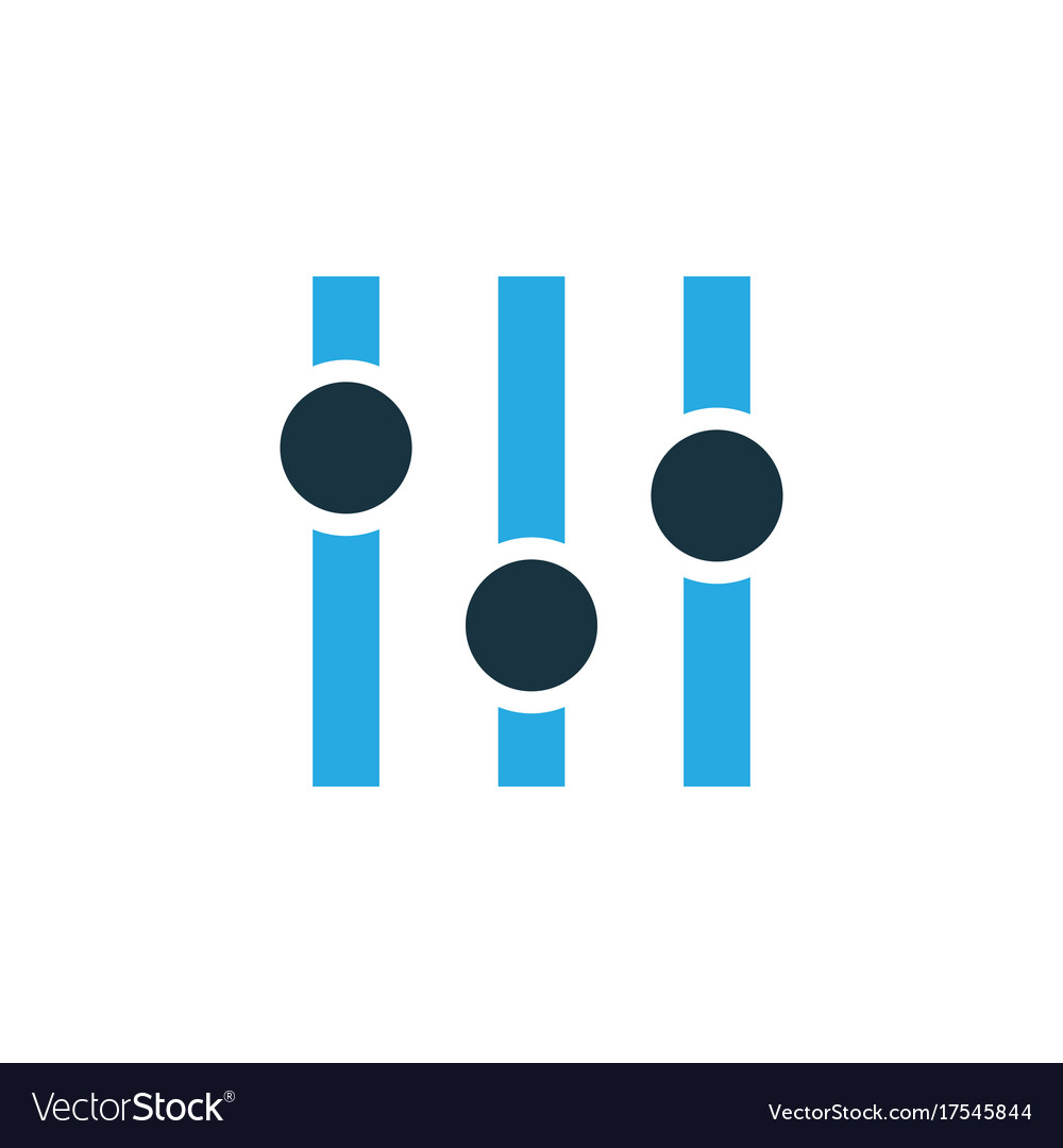 Stabilizer colorful icon symbol premium quality vector image
