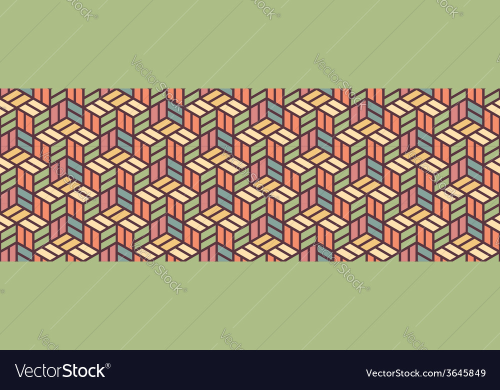 Colored Geometric Pattern
