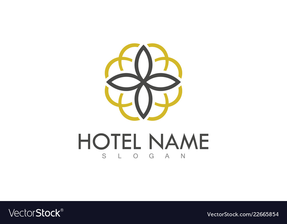 Decoration hotel logo