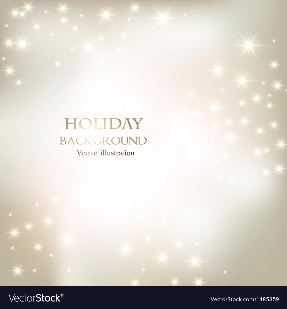 Elegant Christmas shining background with vector image