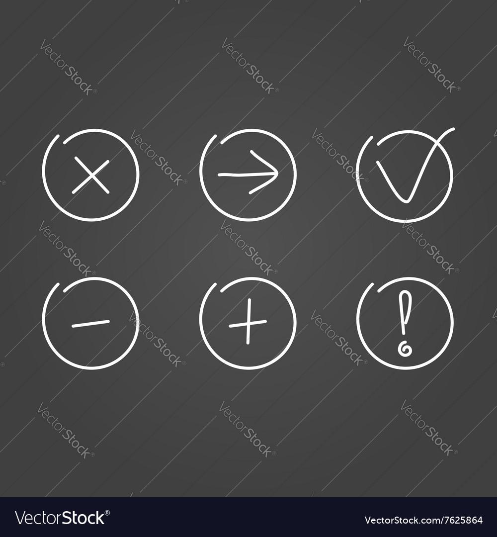 Set icons draw effect