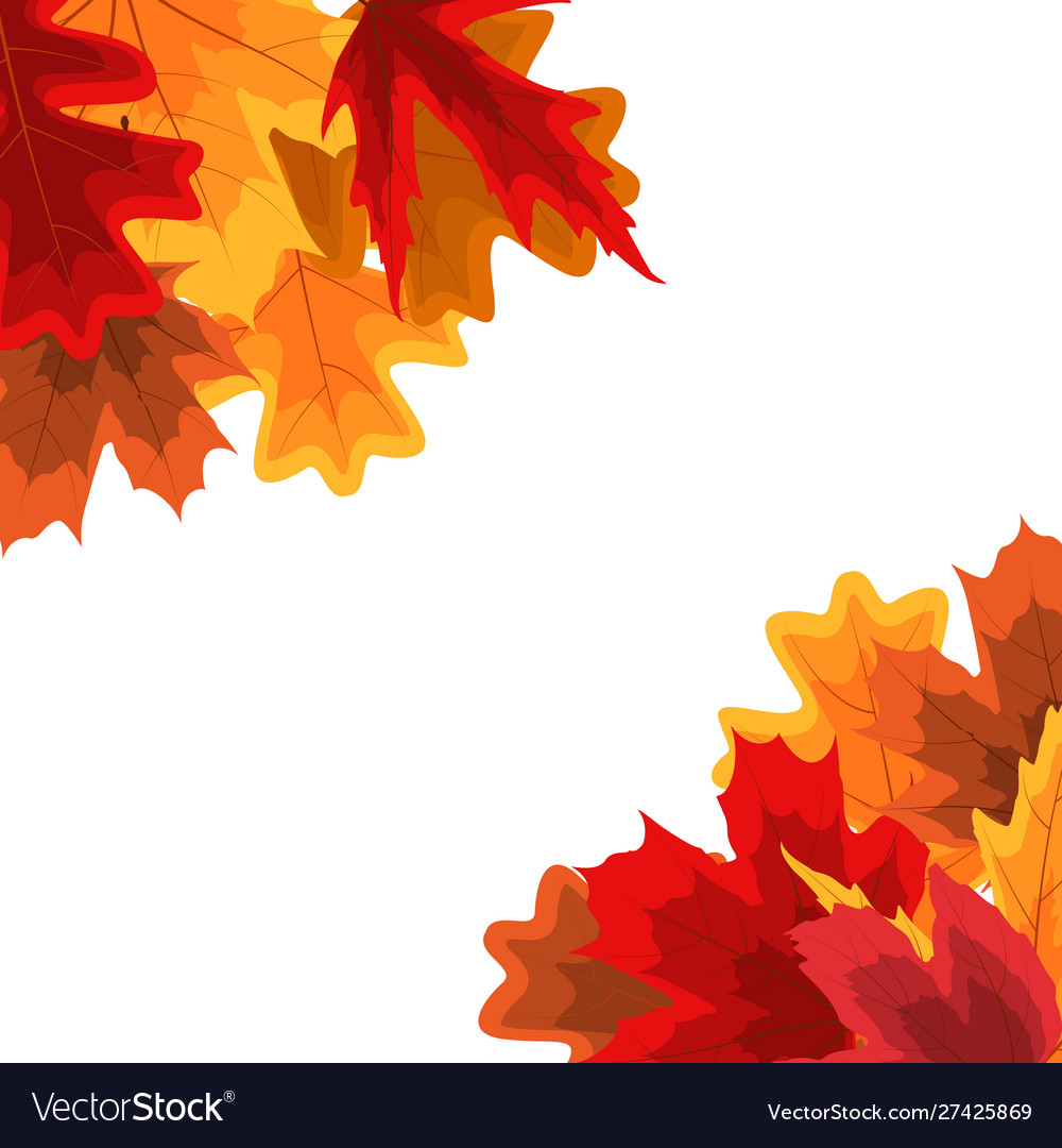 Autumn natural leaves background eps10
