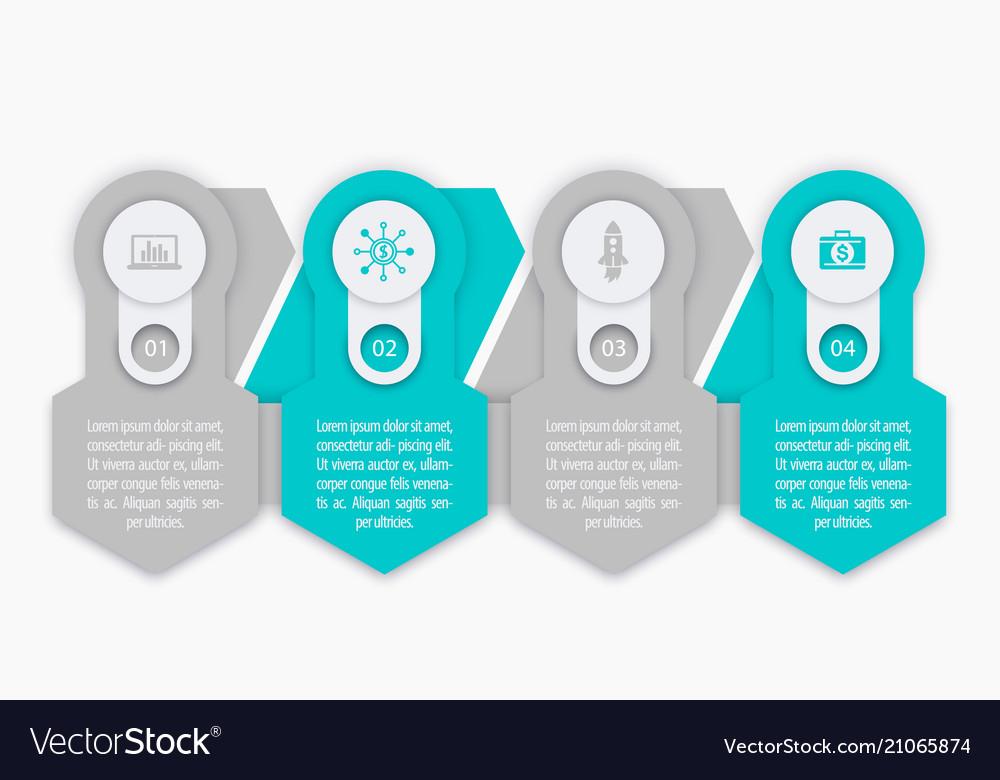 Business finance infographics elements