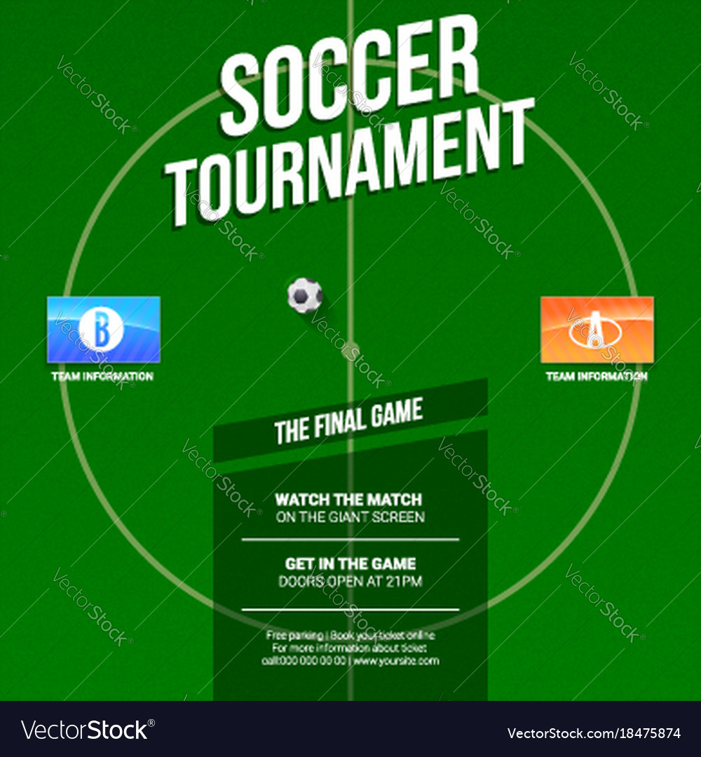 football ad template