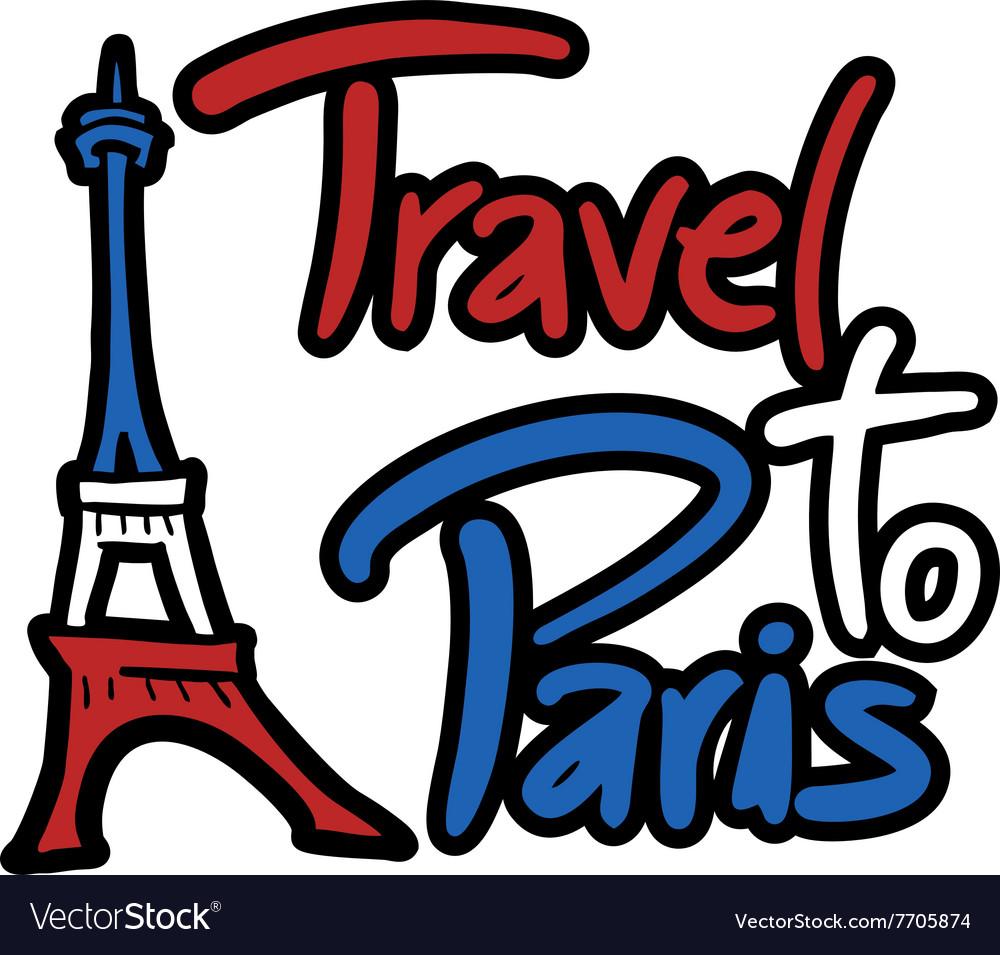 Travel Paris symbol