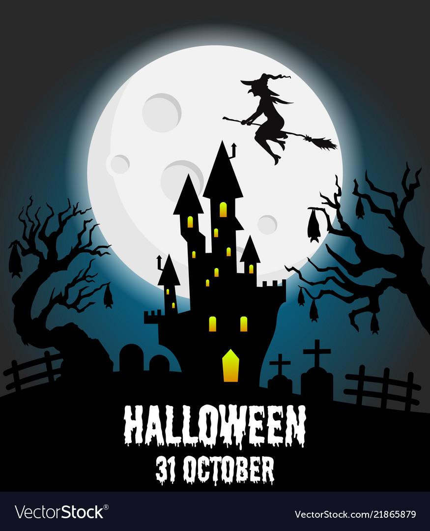Halloween Poster Art.Happy Halloween Poster Halloween Banner
