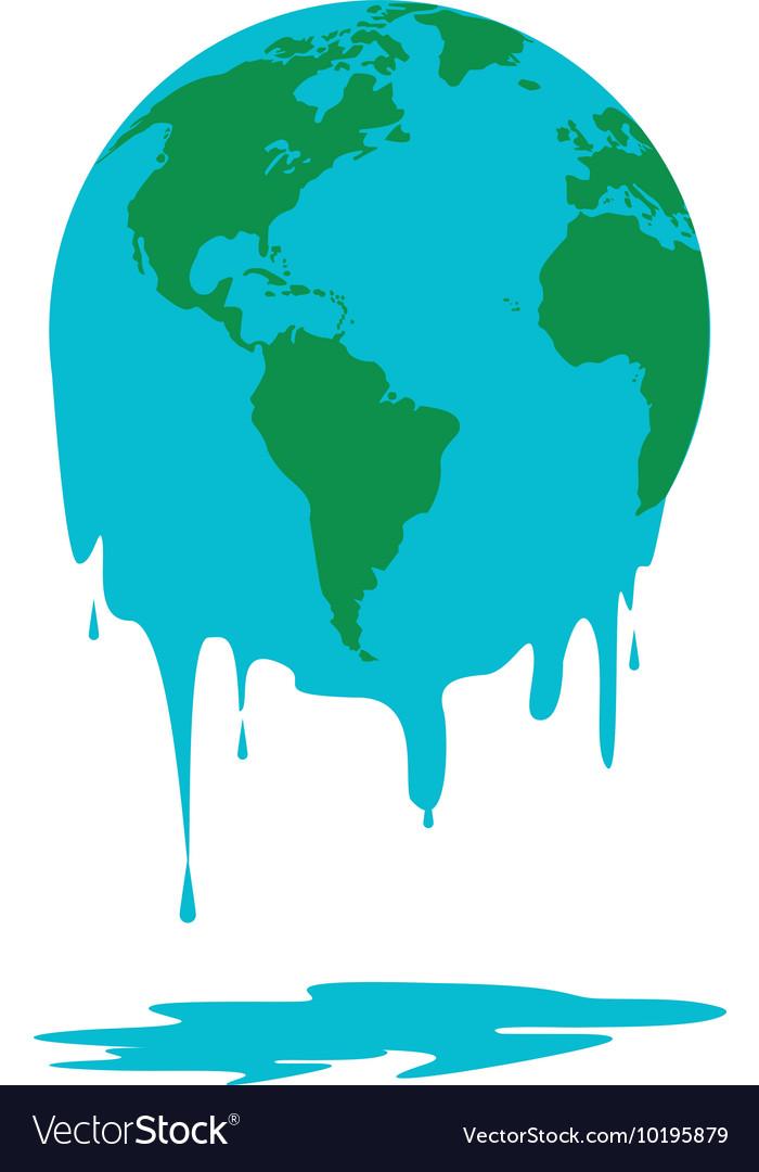 Melting world icon royalty free vector image vectorstock melting world icon vector image publicscrutiny Choice Image