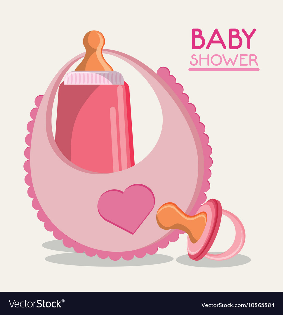 Baby bottle bib and pacifier design