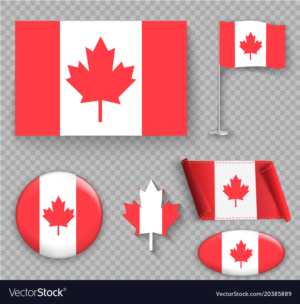 Flag of canada the right colors and proportions