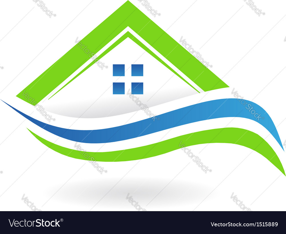 House Swoosh Icon Logo