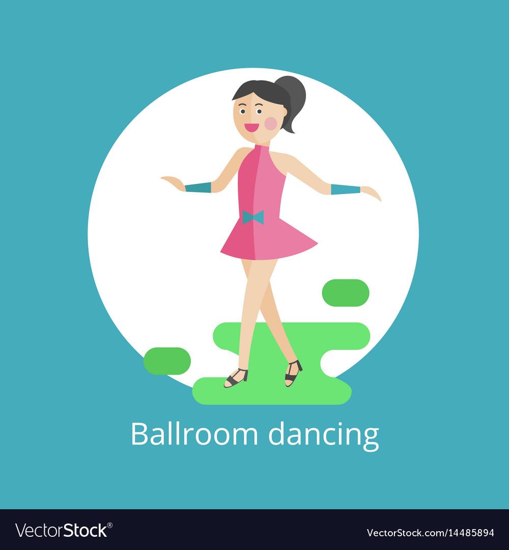 Icon of ballroom dances