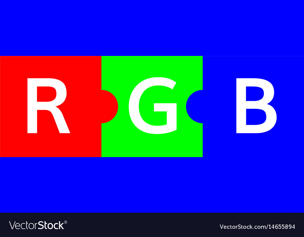 Rgb color scheme puzzle