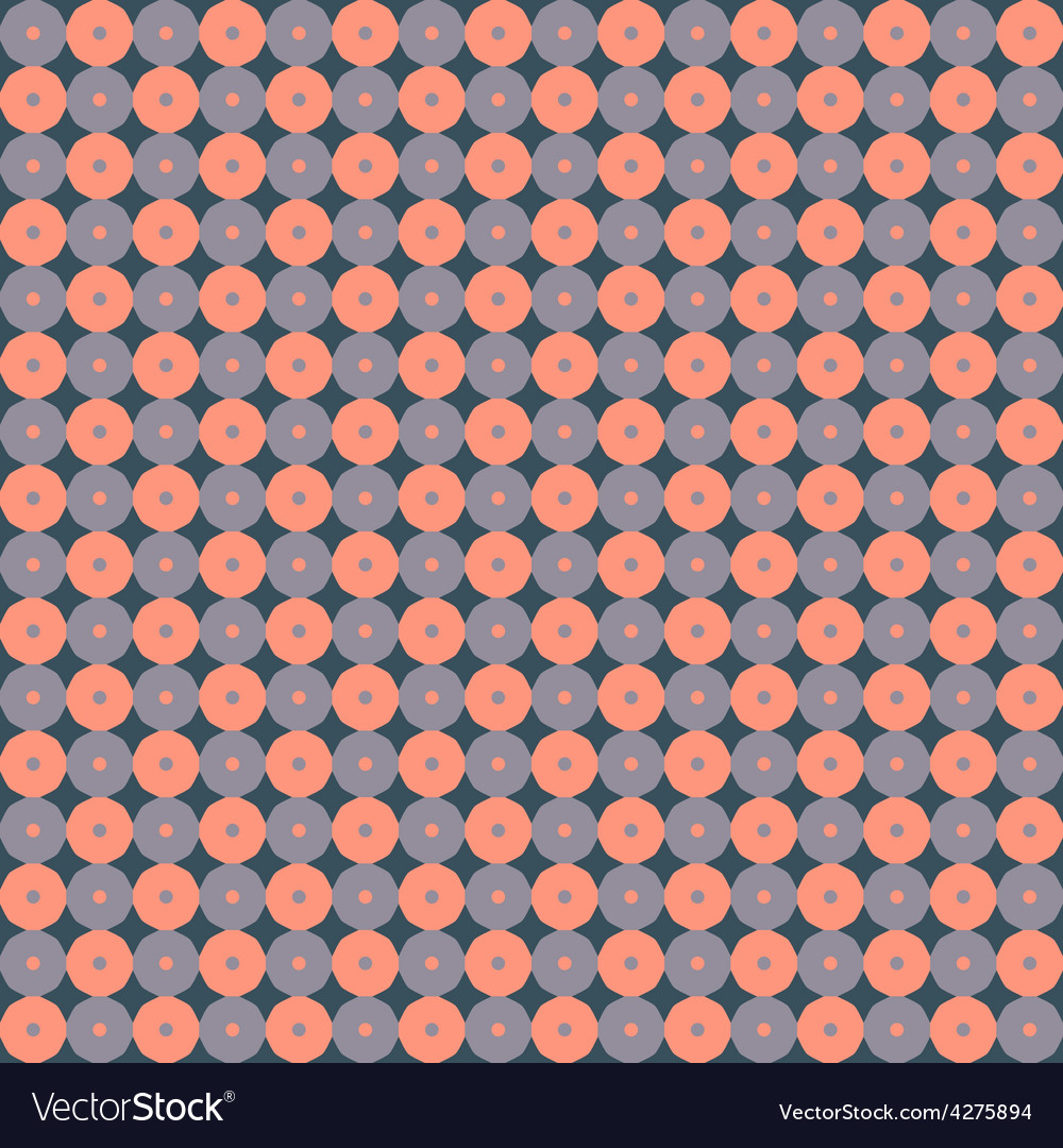 Seamless ornamental geometric pattern