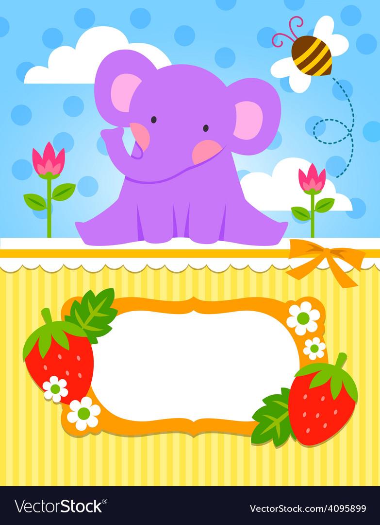 Baby elephant cadr