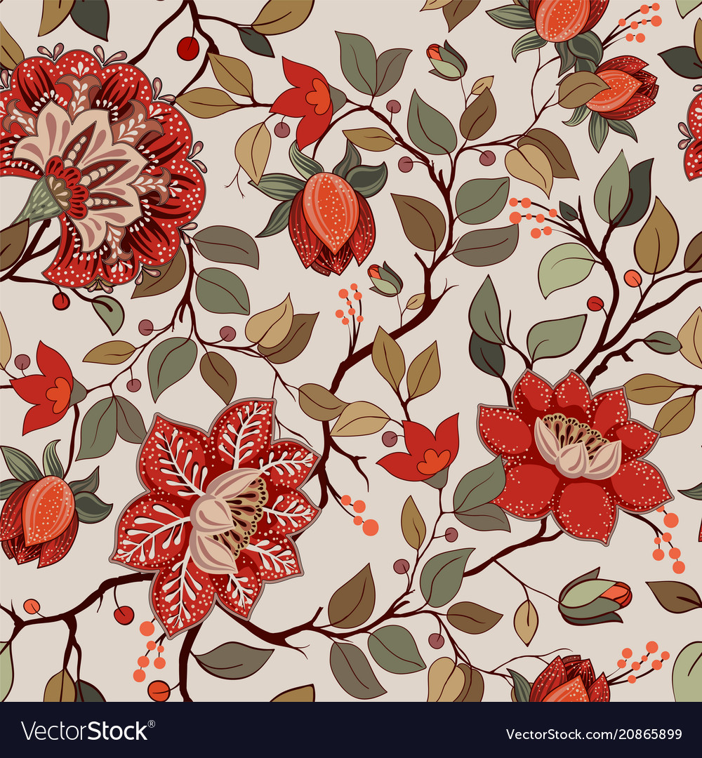 Flower Pattern Wallpaper New Design