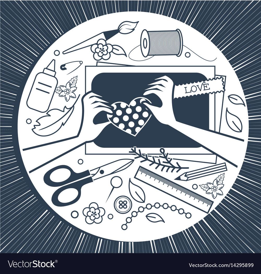 Handmade festival poster