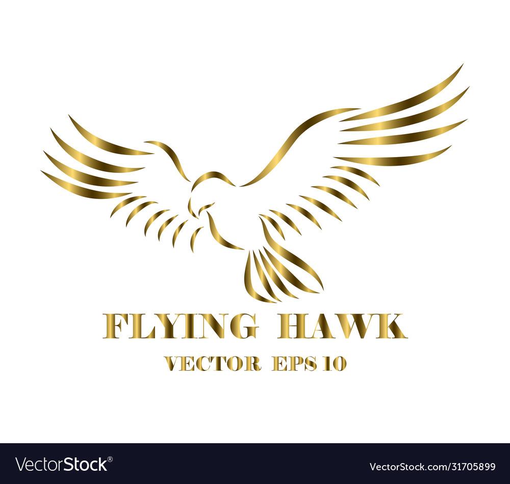 Logo hawk that is flyin eps 10