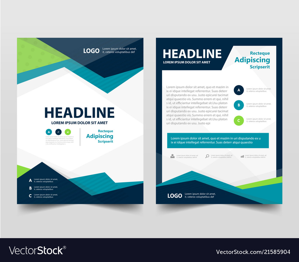 Pamphlet leaflet business template layout flyer