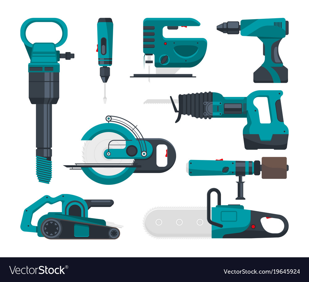 Construction electro tools for repair