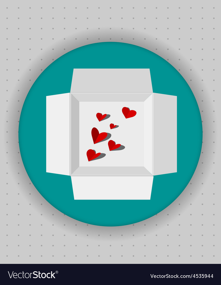 Gift box icon in blue circle