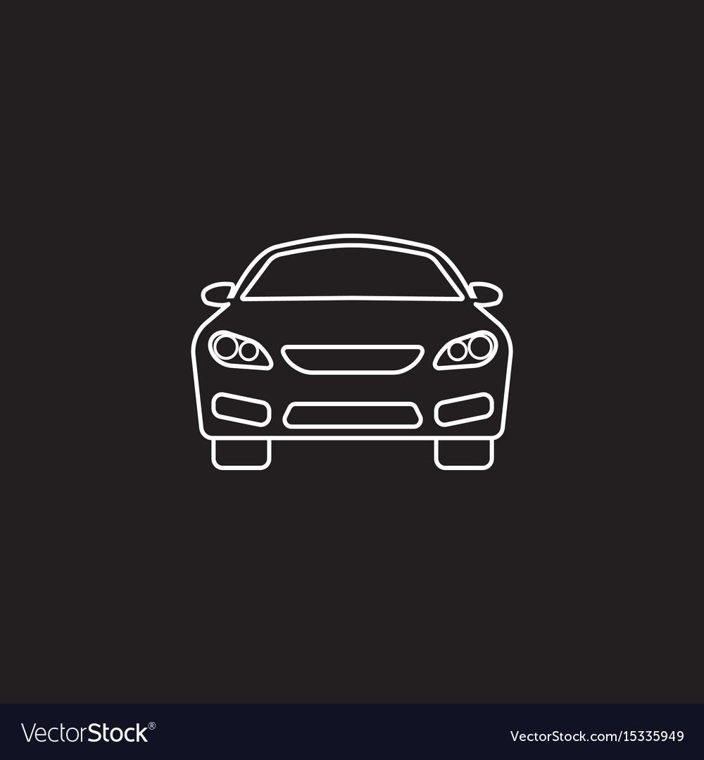 Car icon automobile symbol graphics