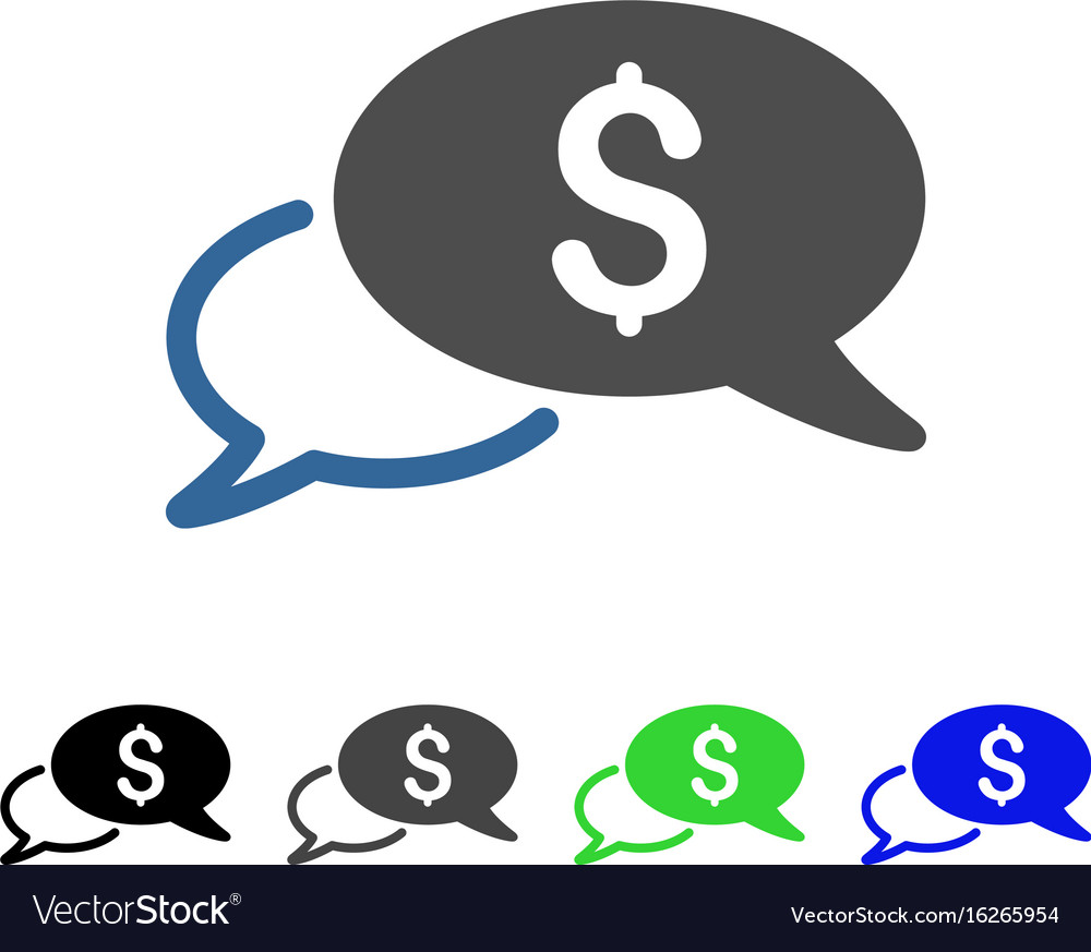 Wire transfer flat icon vector image