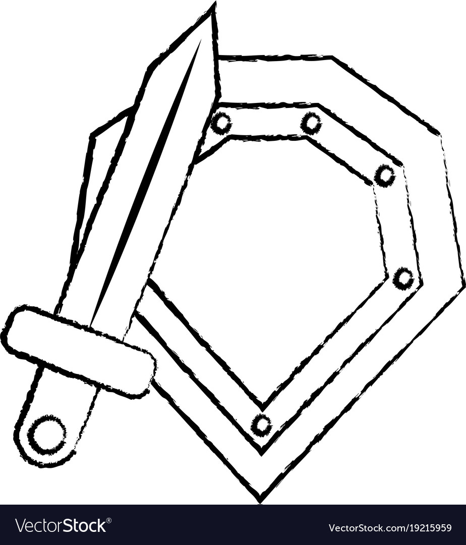 Shield war icon image