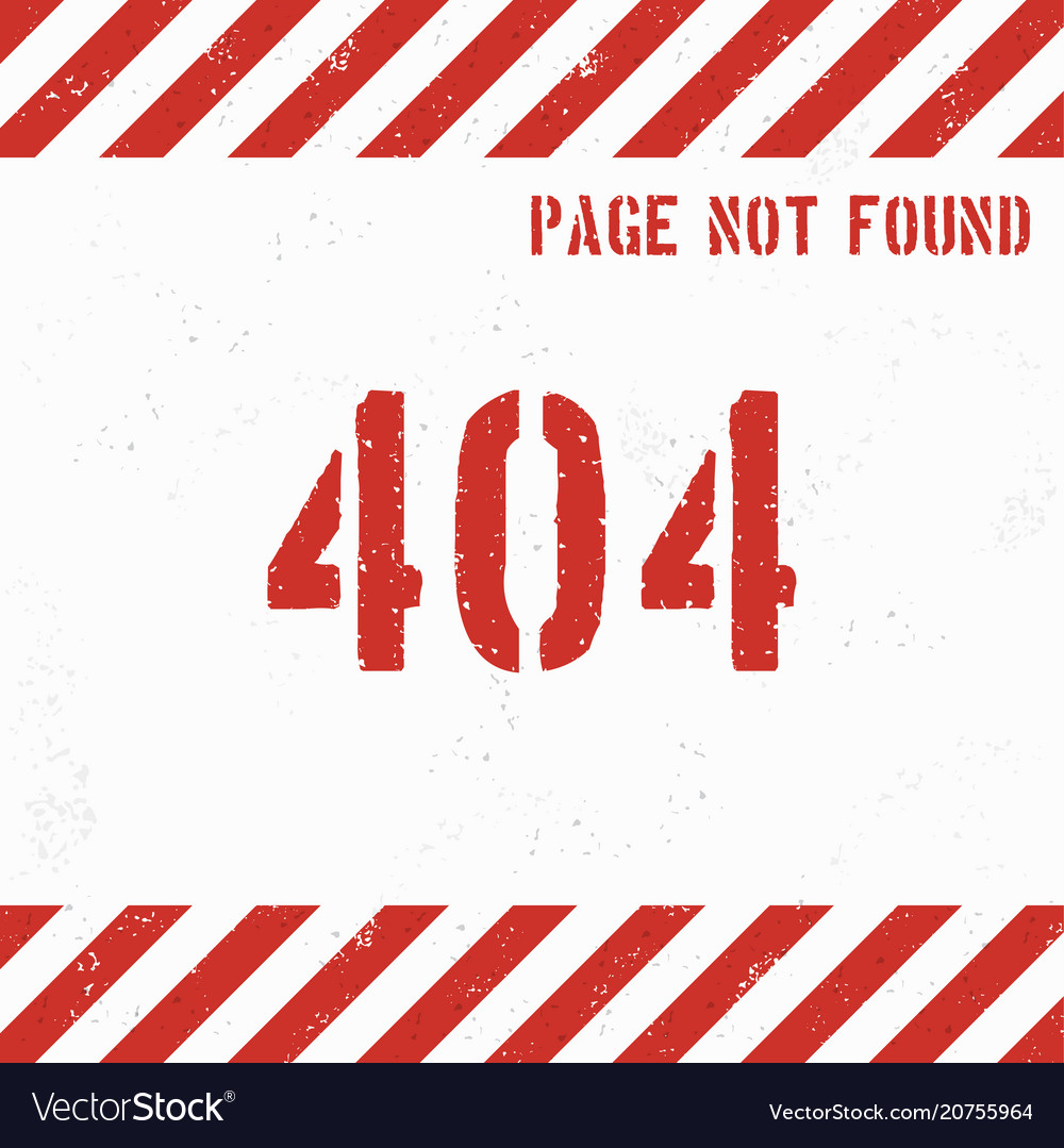 404 error page grunge background