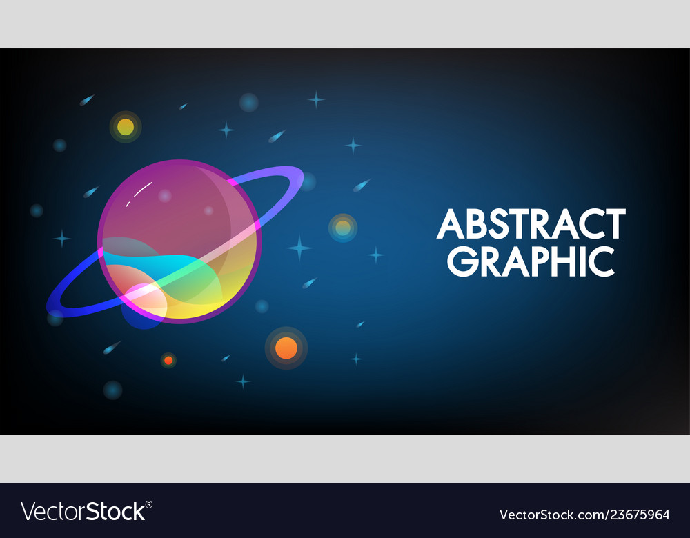 Abstract technology mars planet design background