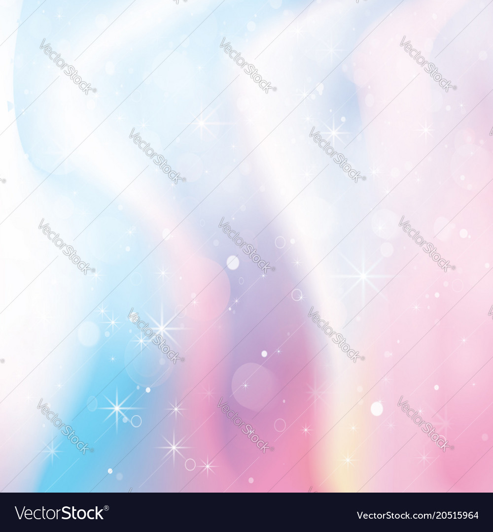 Unicorn holographic color gradient background