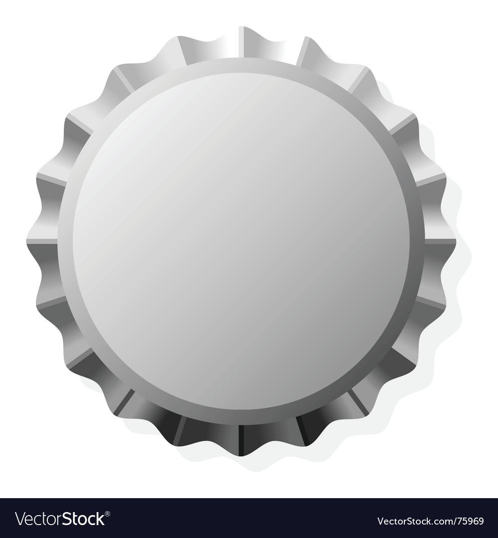 Bottle cap vector image