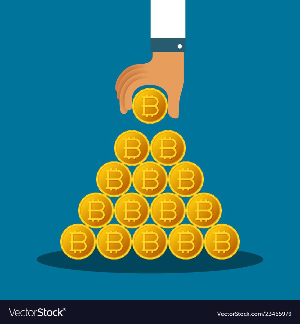 bitcoin pyramid)