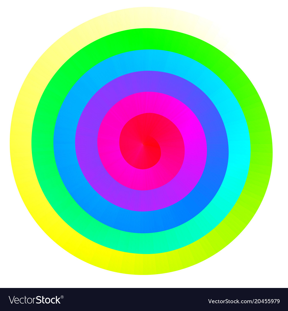 colorful rainbow spiral royalty free vector image rh vectorstock com spiral vectoriel spiral vector file
