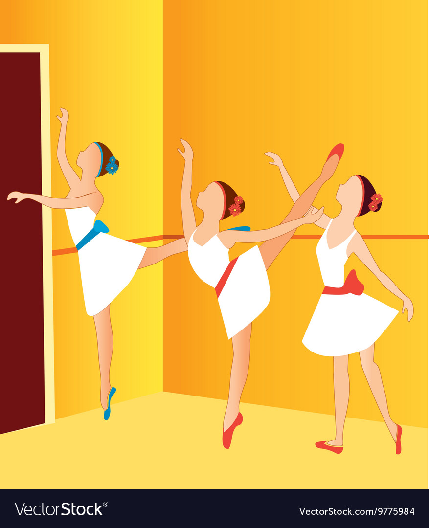 Ballerinas dancing 2