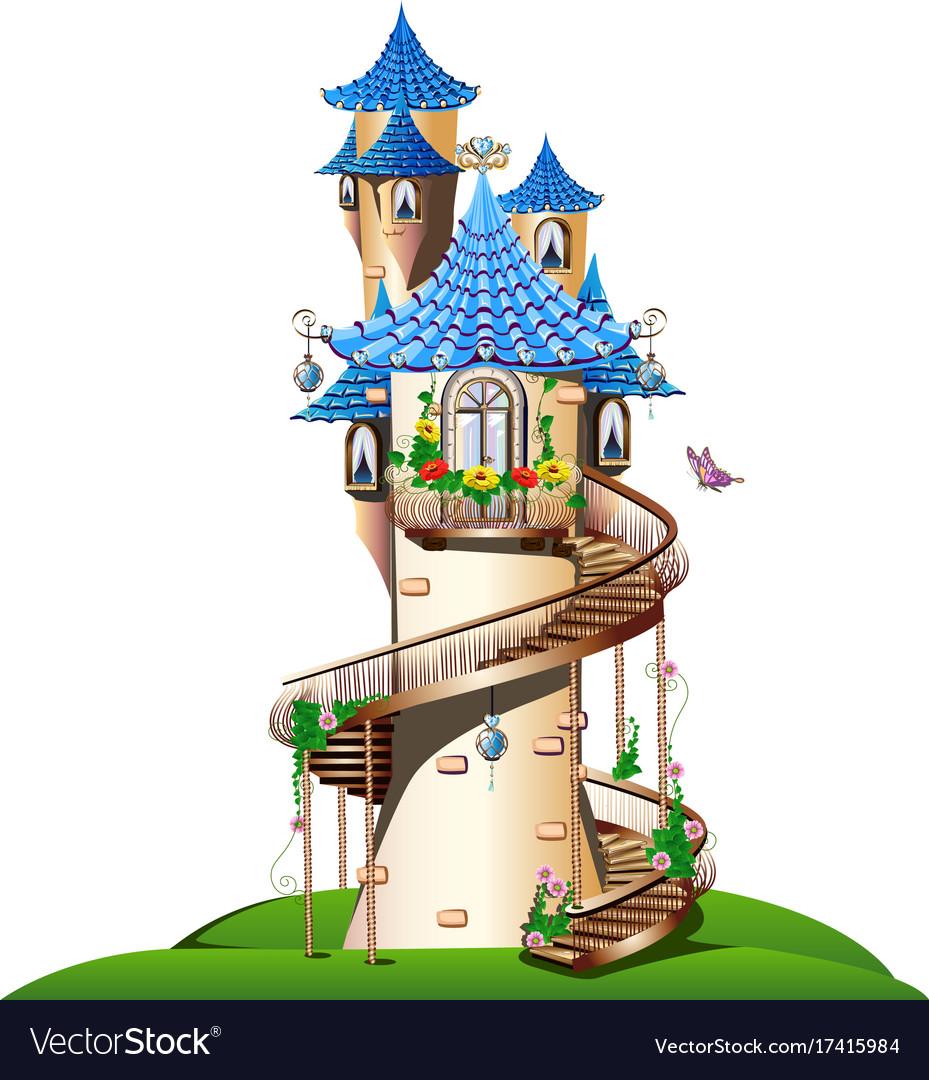 Картинки башня с домиком