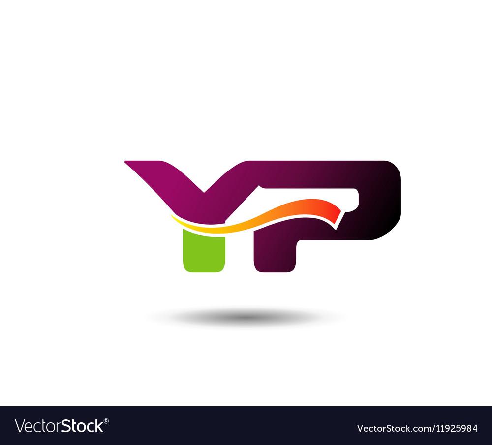 YP Logo vector image