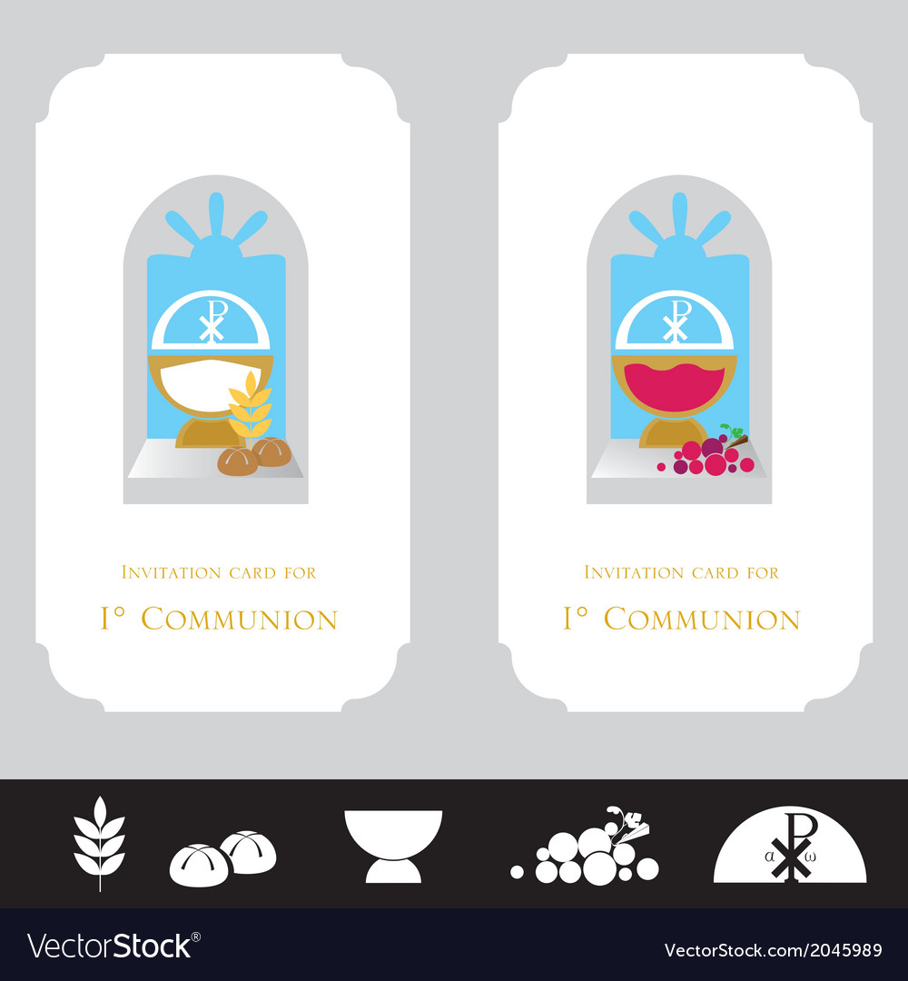 Religion invitation cards royalty free vector image religion invitation cards vector image stopboris Images