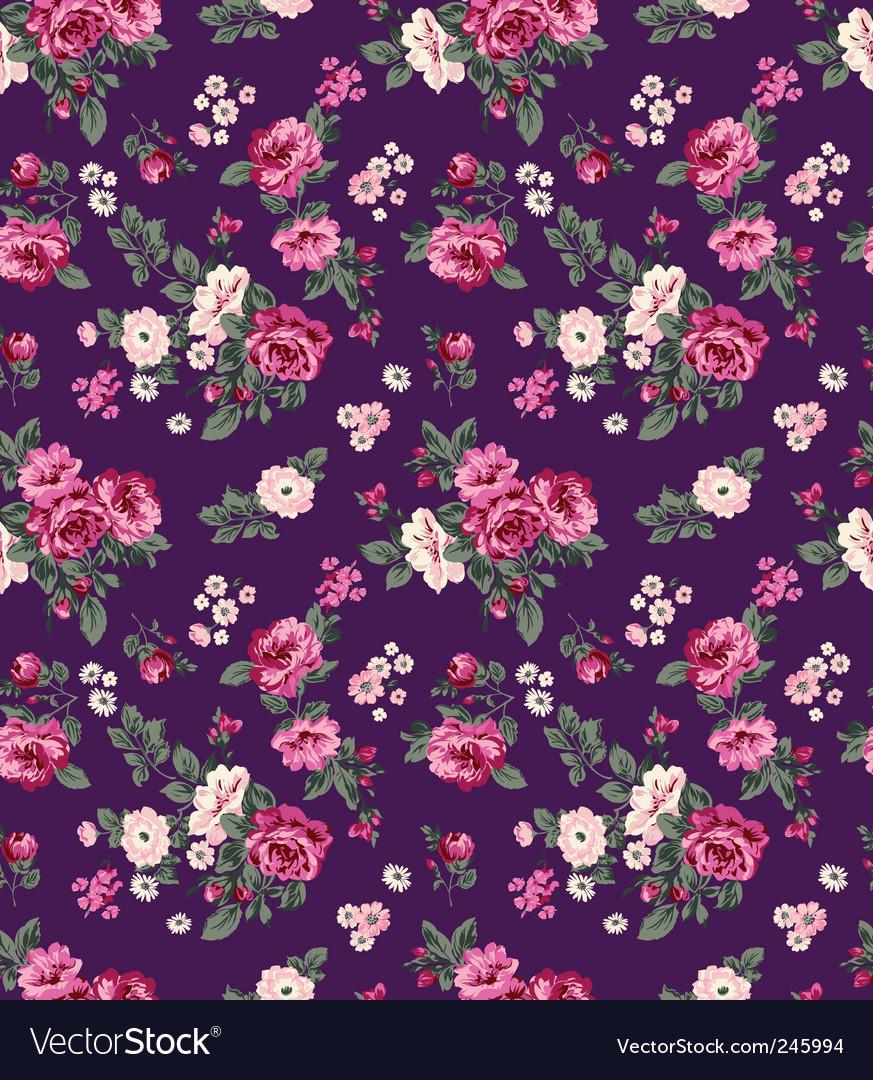 Juicy flowers vector image