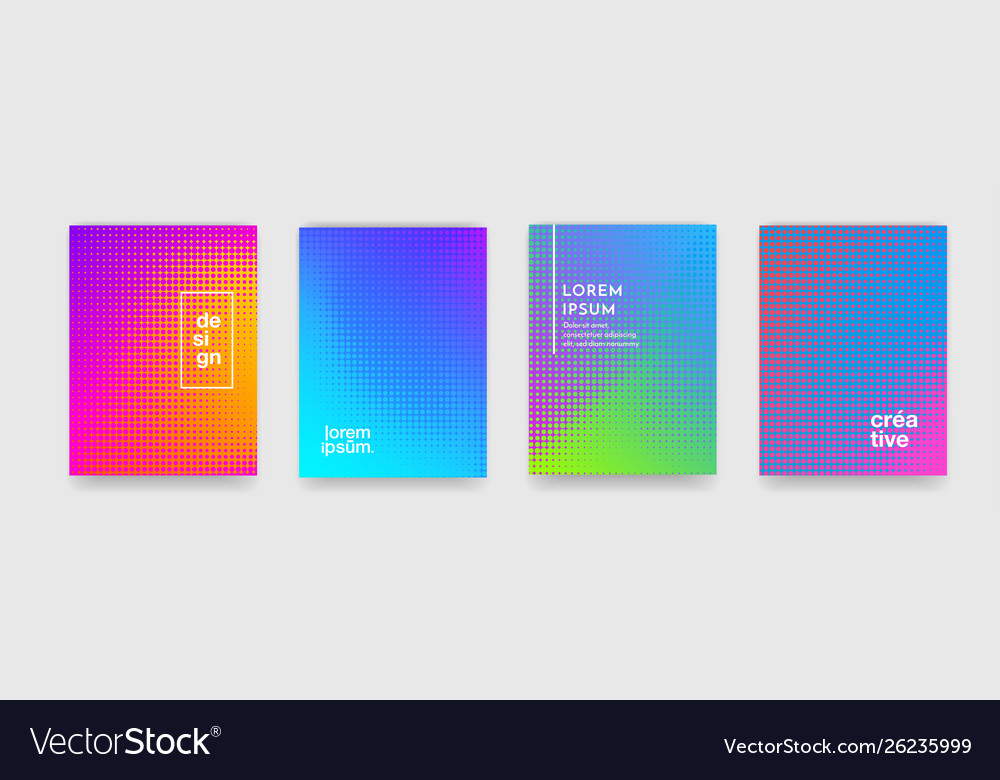 Abstract color geometric pattern background